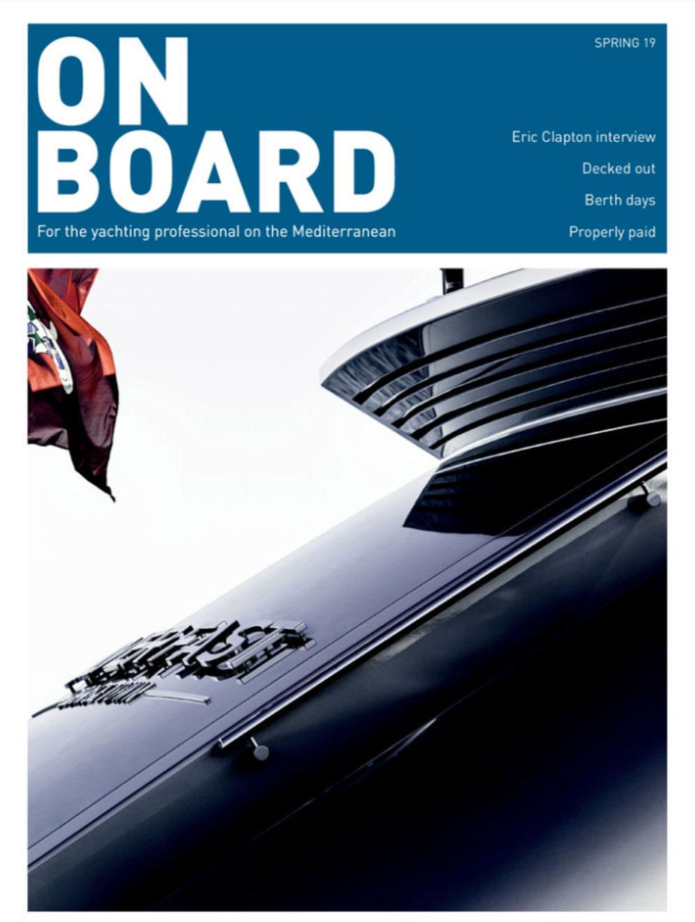 onboard magazine spring
